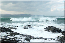 SW5842 : Winter waves at Godrevy (7) by Andy F