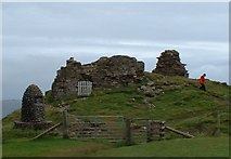 NG4074 : Duntulm Castle by JThomas