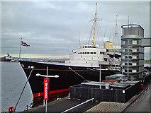 NT2677 : The Royal Yacht Britannia by Dr Richard Murray