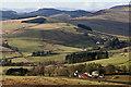 NX7592 : Tererran Farm from Tererran Hill by Walter Baxter