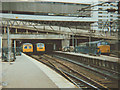 SP0686 : A variety of trains at Birmingham New Street by Stephen Craven