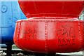 J3374 : The buoys, Belfast (8) by Albert Bridge