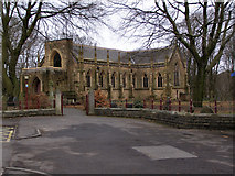 SD7308 : The Church of St Stephen & All Martyrs, Lever Bridge by David Dixon