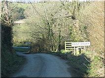 SS6243 : Approach to Kentisbury by Sarah Charlesworth
