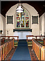 TL9889 : St Ethelbert's church - the chancel by Evelyn Simak