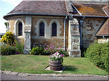SZ5881 : St Saviour on the Cliff, Shanklin, Isle of Wight - west side by Christine Matthews