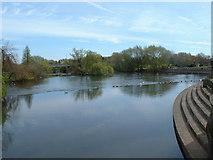 SK3536 : River Derwent, Derby by JThomas