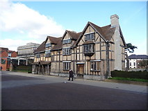 SP2055 : Shakespeare's birthplace by Jeremy Bolwell