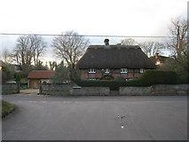 SU6349 : Thatch cottage - Farleigh Road by Sandy B