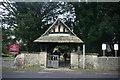 TQ4744 : Lych Gate, St Peter's Church, Hever by N Chadwick