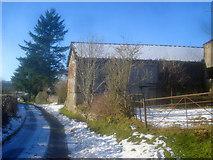 SO2655 : Barn at New House by Trevor Rickard