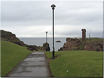 NT6779 : Dunbar Castle by michael ely