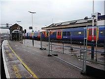 TQ2775 : The eastern end of Platform 7, Clapham Junction station by Christine Johnstone