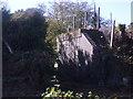 SP0564 : Remains of old railway bridge by peter Dodman