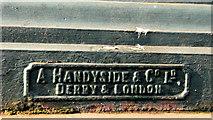 J3573 : Victorian lampposts, Belfast (3) by Albert Bridge