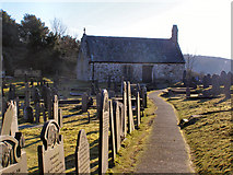 SH5571 : Church of Saint Tysilio, Church Island by David Dixon