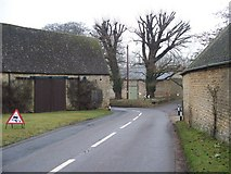 SP1726 : Barns at Upper Swell by Michael Dibb