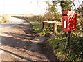 SY9481 : Church Knowle: postbox № BH20 108, Bucknowle by Chris Downer