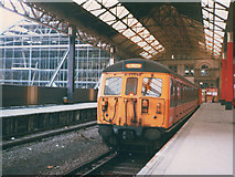 SJ8499 : Victoria to Bury - nearly the end by Stephen Craven