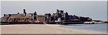 SC2484 : Peel - Peel Castle on St Patrick's Isle by Joseph Mischyshyn