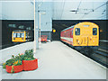 SE2933 : Temporary electric service at Leeds by Stephen Craven