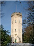 NJ0459 : Nelson's Tower, Cluny Hill, Forres by nairnbairn