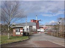 SS9902 : Devon Valley paper mill, Hele by Roger Cornfoot