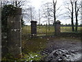 O0655 : Gateway Entrance to Charstown House, Co Dublin by C O'Flanagan