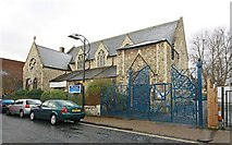 TQ3476 : All Saints, Blenheim Grove, London SE15 by John Salmon