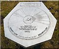 SJ9793 : Plinth at Windy Harbour by Gerald England
