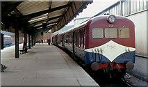 J3475 : DE railcars, Belfast by Albert Bridge