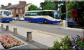 J2458 : Two Goldline coaches, Hillsborough by Albert Bridge