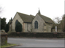 TQ3355 : St Lawrence's church, Caterham by Stephen Craven
