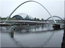 NZ2563 : Tyne bridges and the Sage by Malc McDonald