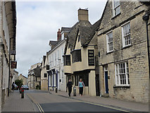 SP0202 : Dollar Street, Cirencester by Chris Gunns