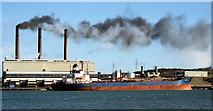 D4201 : Ballylumford power station (when oil-fired) by Albert Bridge