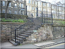 NT2774 : Steps to London Road by kim traynor