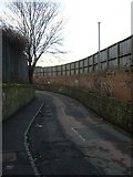 NT2774 : Clockmill Lane looking south-westwards by kim traynor