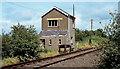 C9826 : Ballyboyland signal cabin near Ballymoney by Albert Bridge