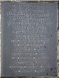 SO2956 : Kington war memorial - plaque 3 by Bob Embleton