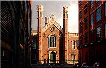 J3473 : St Malachy's (RC) church, Belfast (2) by Albert Bridge