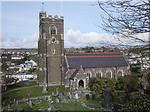 SX5547 : St Peter's Church, Noss Mayo by Roger Cornfoot