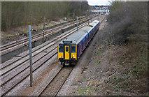 TQ2794 : Semi-fast to London by Martin Addison