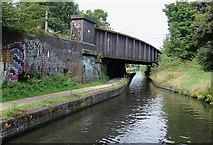 SP0482 : Bridge No 79 near Selly Oak, Birmingham by Roger  Kidd