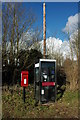 SO7434 : Telephone and postbox, Bromesberrow by Philip Halling