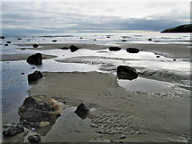 SH1726 : Low water at Aberdaron by Dave Croker