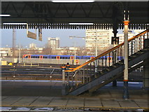 TQ2775 : Staircase at Clapham Junction by Alan Murray-Rust