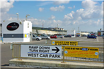 TQ3303 : Car park level 9, Brighton Marina by Robin Webster
