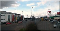 O2034 : The Irish Ferries Terminal, Dublin Port by Eric Jones