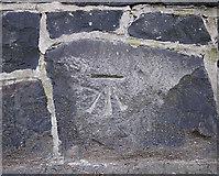 J3372 : Bench Mark, Belfast by Rossographer
